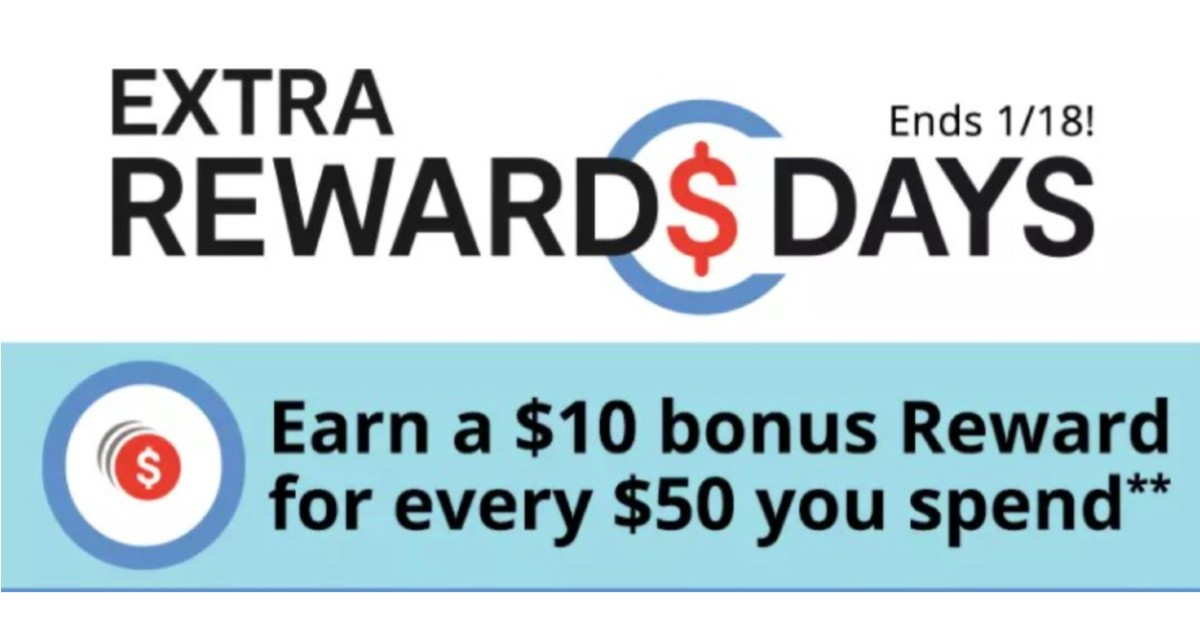 Dias de Extra Rewards en JCPenney | $10 Reward en $50 + Extra 25%  HASTA 30% off