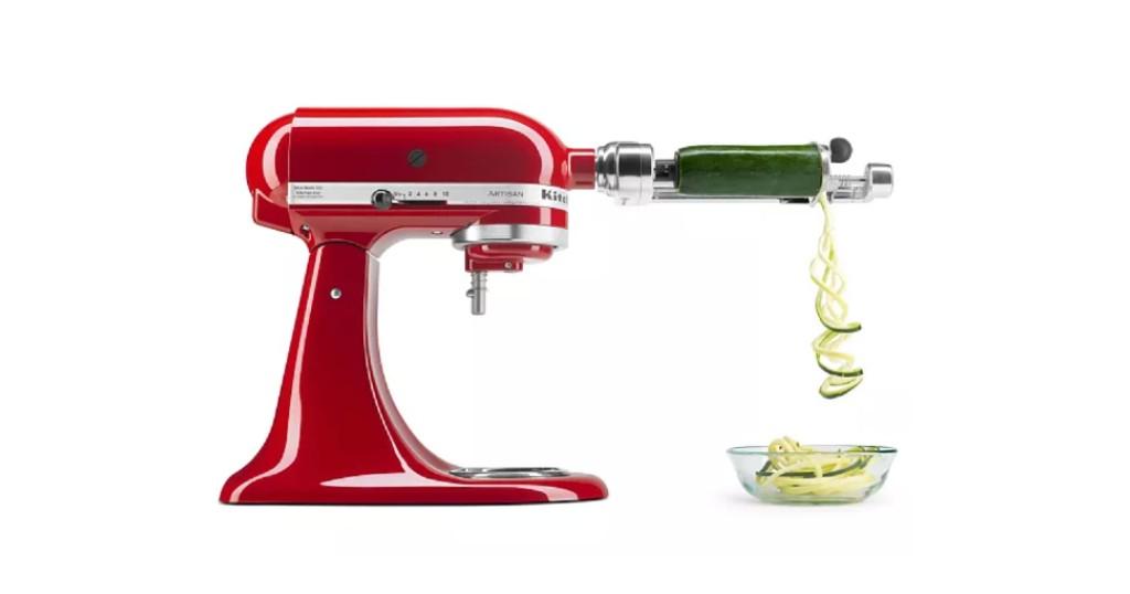 KitchenAid Spiralizer Stand Mixer