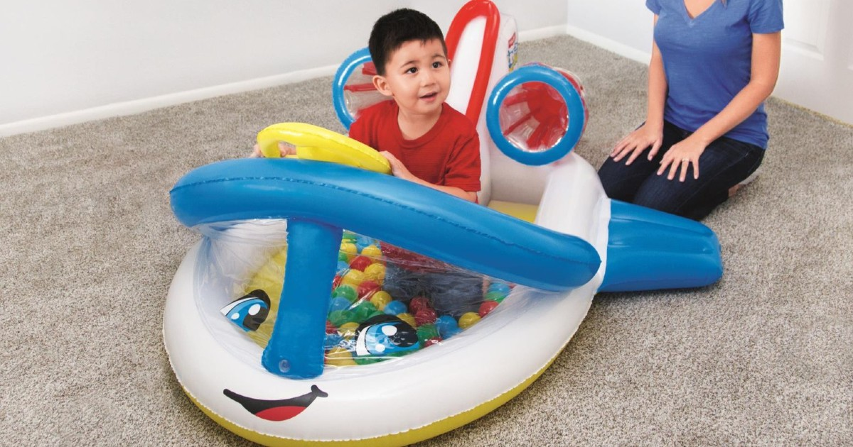 Little People Airplane Ball Pit SOLO $11.99 (Reg $30)