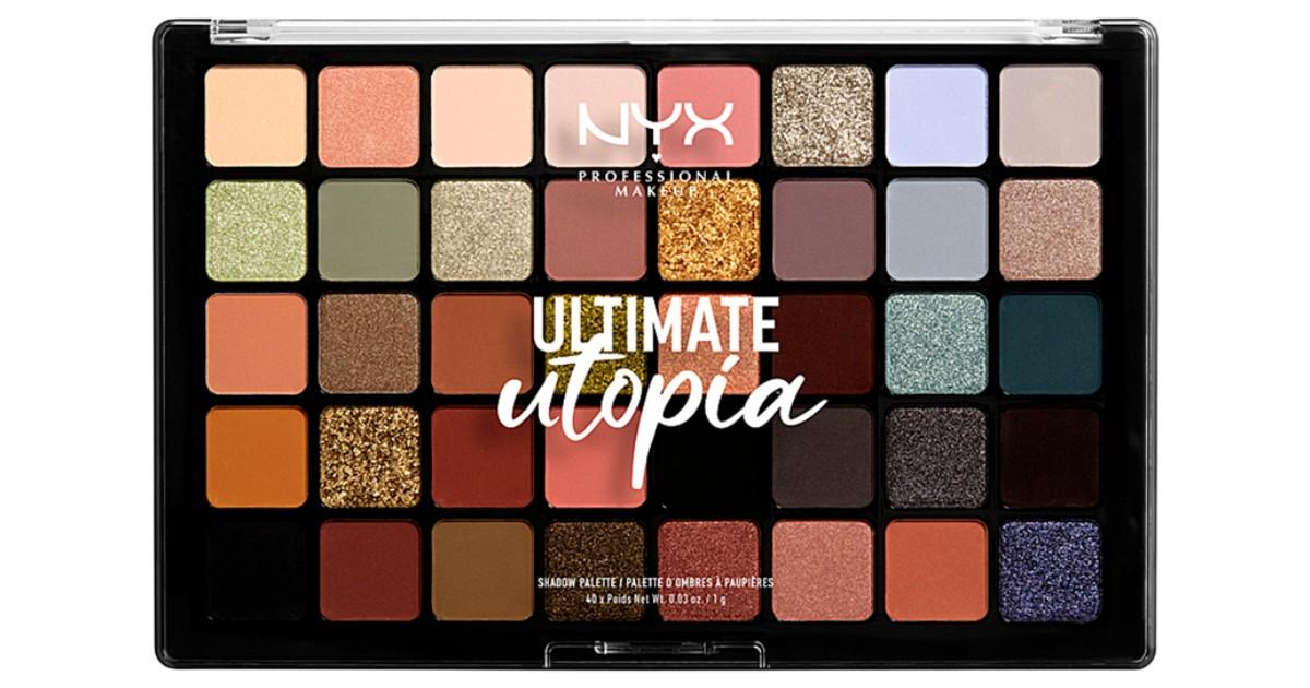 Paleta de Sombras NYX Professional Ultimate Utopia SOLO $22.75 (Reg $35)