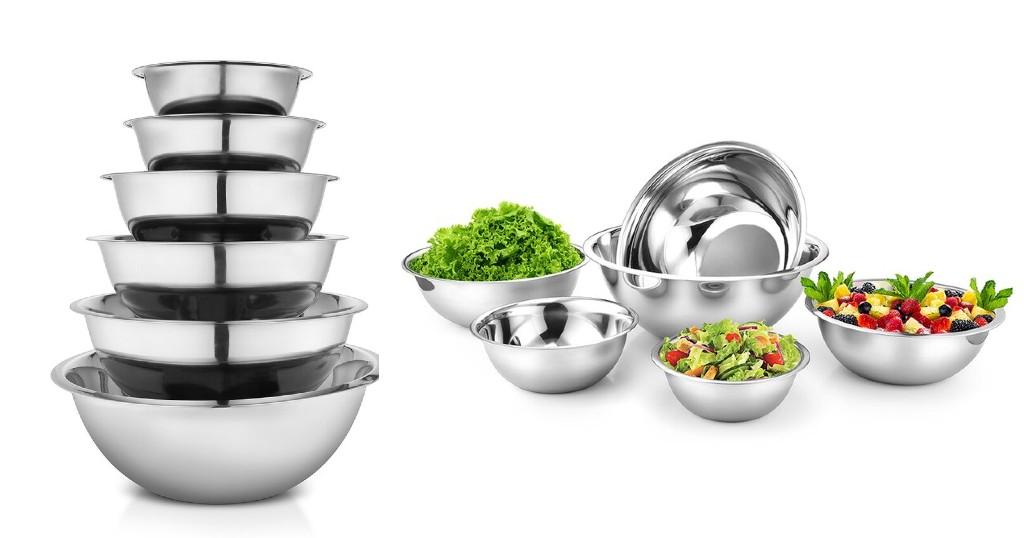 Set de Envases Avador Premium de 6 Piezas en Stainless Steel a $21.99 (Reg. $31.99) en Wayfair