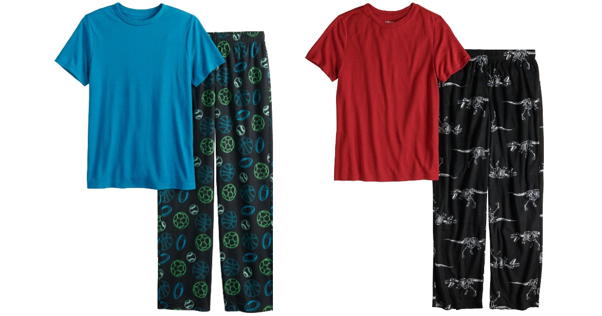 Sets de Pajamas para Niños SOLO $8.50 en Kohl's (Reg $25)