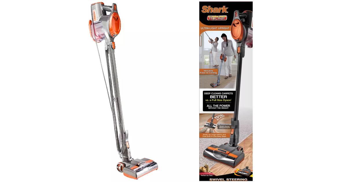 Shark Rocket Ultra-Light Corded Stick Vacuum a solo $149.99 en Target (Reg. $200)