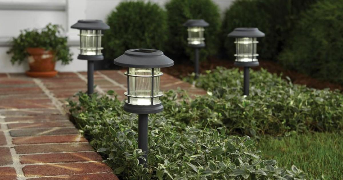 Lee más sobre el artículo Luces Solares Hamptom Bay 5-Pack SOLO $9.88 en Home Depot