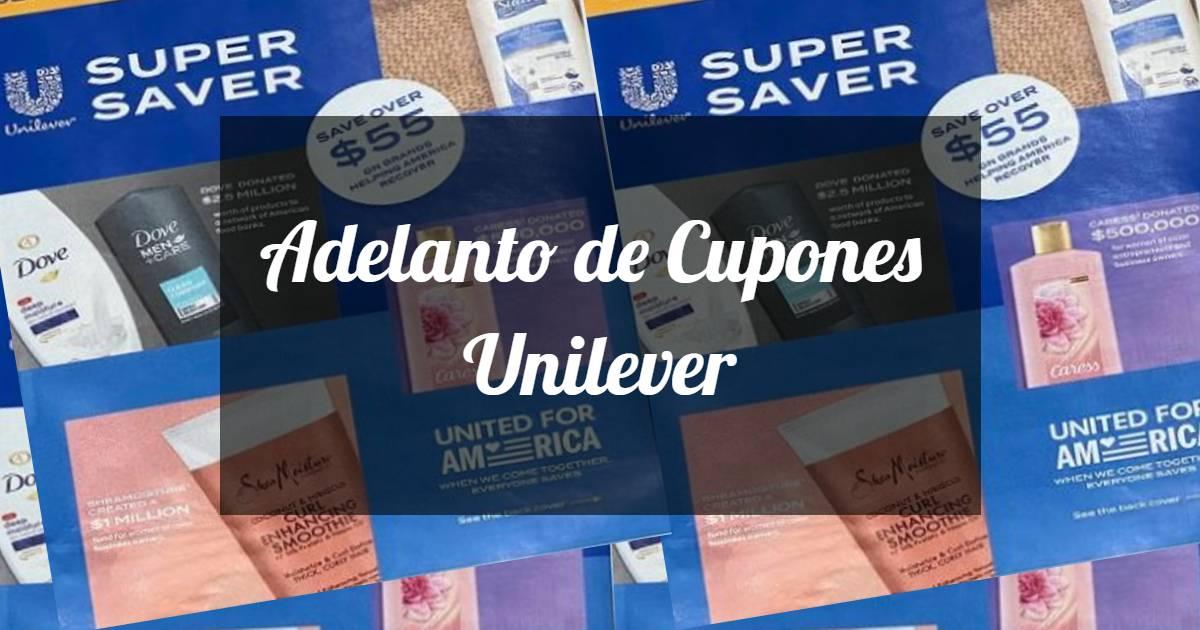 Adelanto de Cupones de Unilever 5/2/21