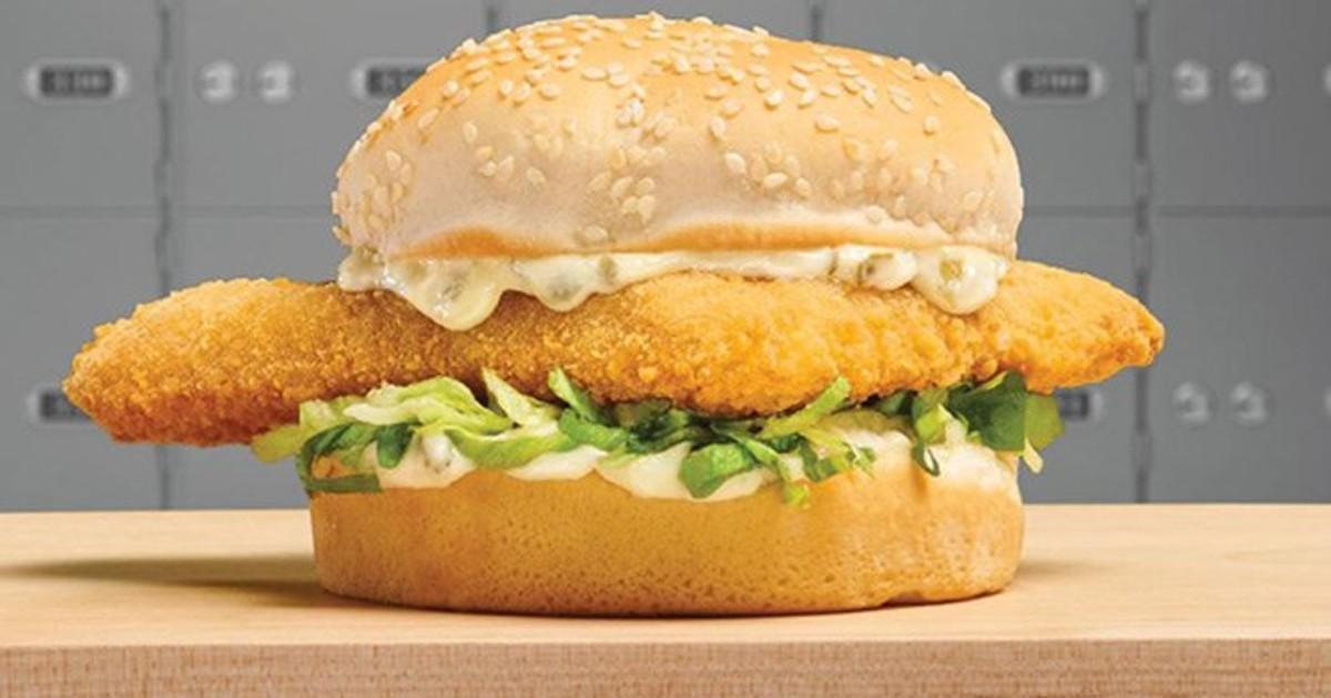 Sandwich de Pescado Crujiente SOLO $1 en Arby's