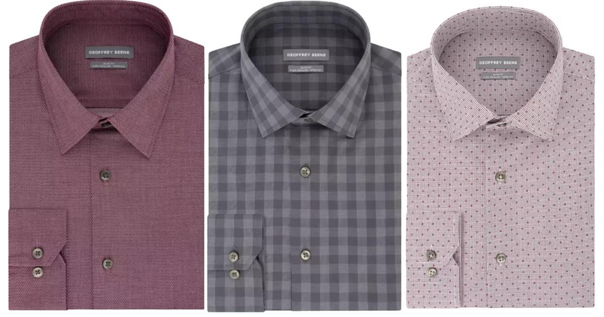 Camisas de Vestir para Caballeros SOLO $7.65 (Reg $60)