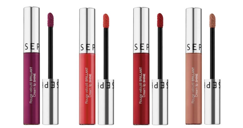 Lipstick Sephora Collection Cream Lip Shine Liquid a SOLO $5 (Reg. $15)