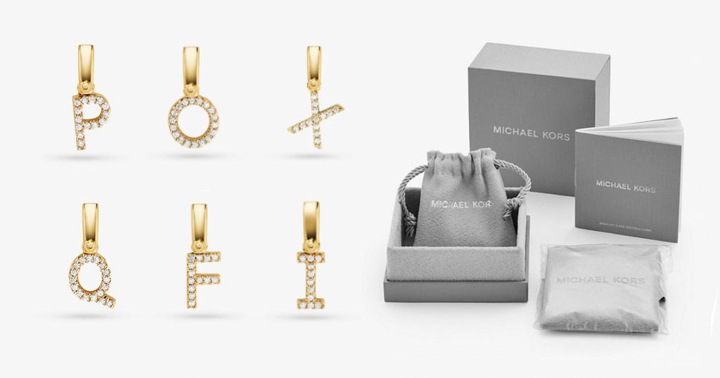 Michael Kors Alphabet Charm 14K por SOLO $19 (Reg $55)