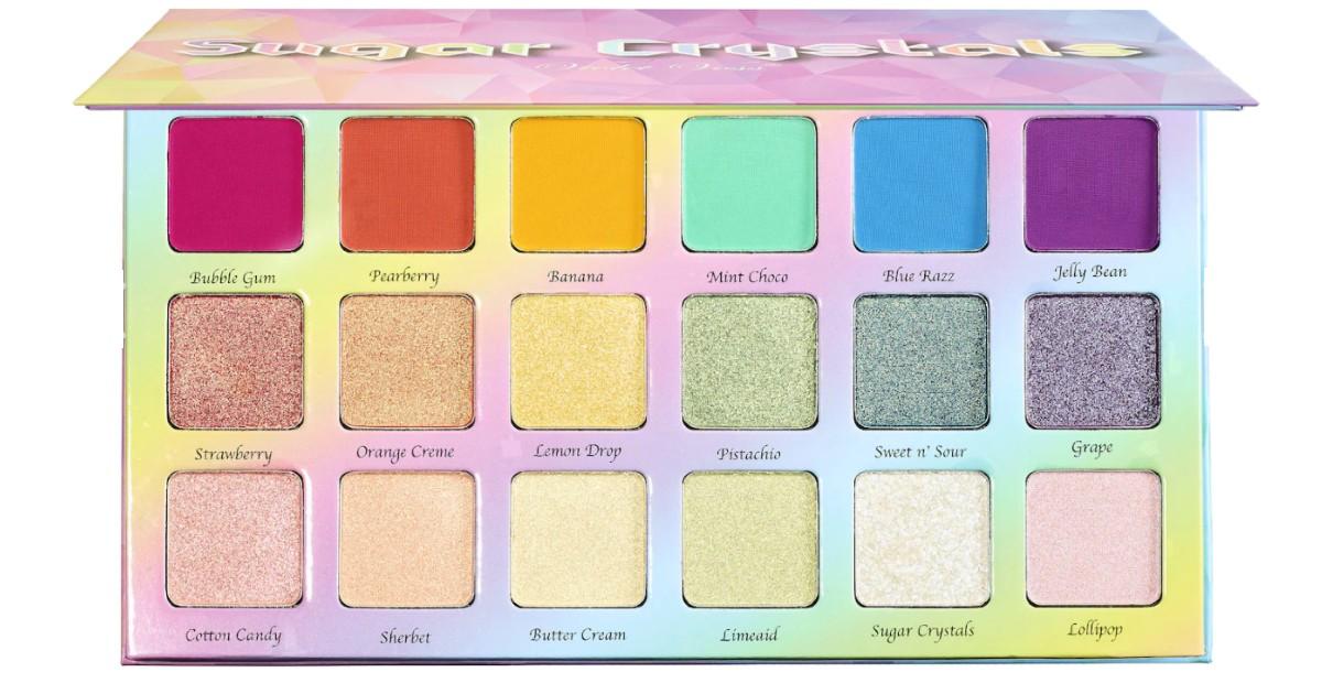 Paleta de Sombras Violet Voss Sugar Crystals SOLO $25 (Reg $42)