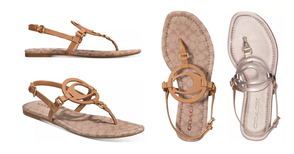 Sandalias COACH Jeri Leather
