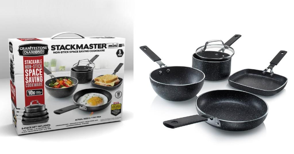 Set de Cocina Granitestone Stackmaster a solo $39.99 (Reg. $59.99) en Wayfair