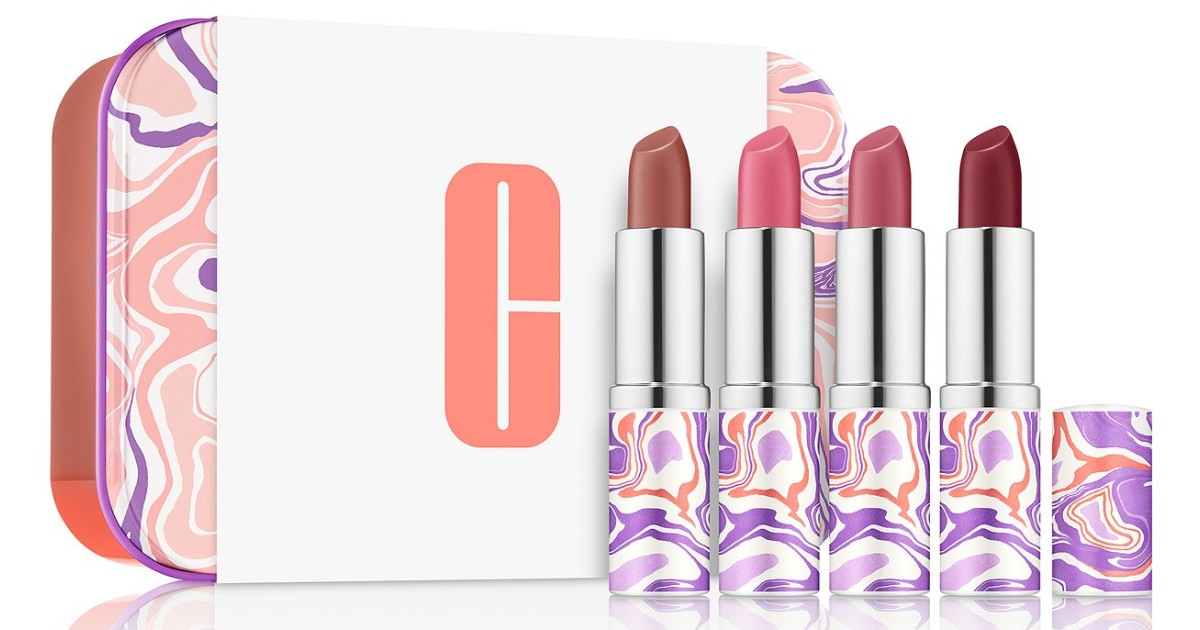 Clinique Plenty Of Pop Lipstick Set de 5-Piezas SOLO $20 en Macy's (Reg $77)