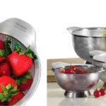 Colador Tramontina Gourmet 1.25 Quart Stainless Steel a solo $16.99 (Reg. $40)