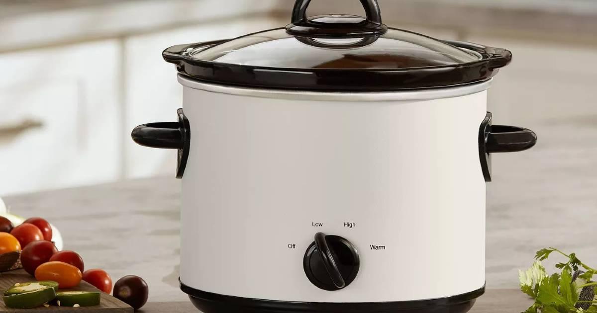 Olla de Cocción Lenta Crock Pot de 3qt a solo $13.49 en Target (Reg. $18)