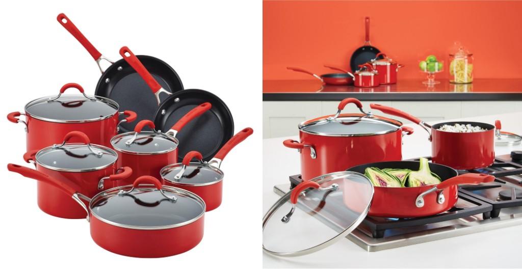 Set de Cocina Circulon Innovatum Aluminum Nonstick 12 Piezas por solo $89.99 (Reg. $300)