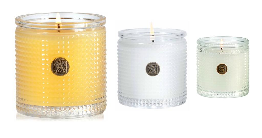Velas Aromatique Textured a solo $12.74(Reg. $22) en Macy's