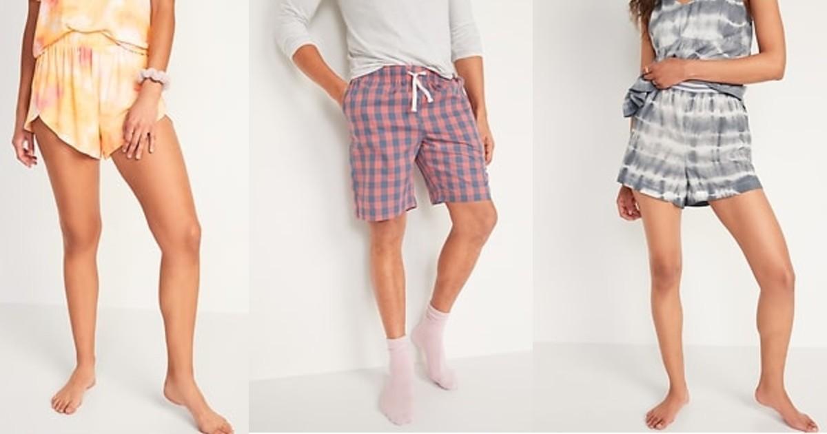 Lee más sobre el artículo Pantalones Pijamas Cortas SOLO $8 en Old Navy (Reg $17)