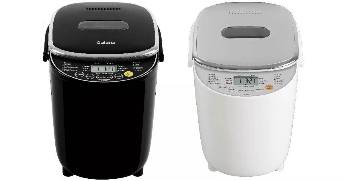 Máquina de Hacer Pan Galanz SOLO $34.99 (Reg $80)