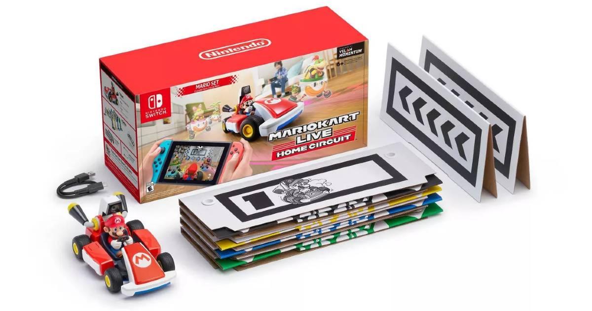 Mario Kart Live: Home Circuit for Nintendo Switch a solo $74.99 en Target (Reg. $100)