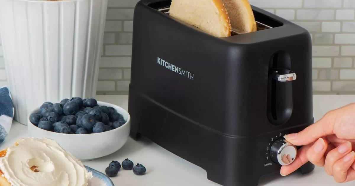 Tostadora KitchenSmith a solo $9.99 en Target