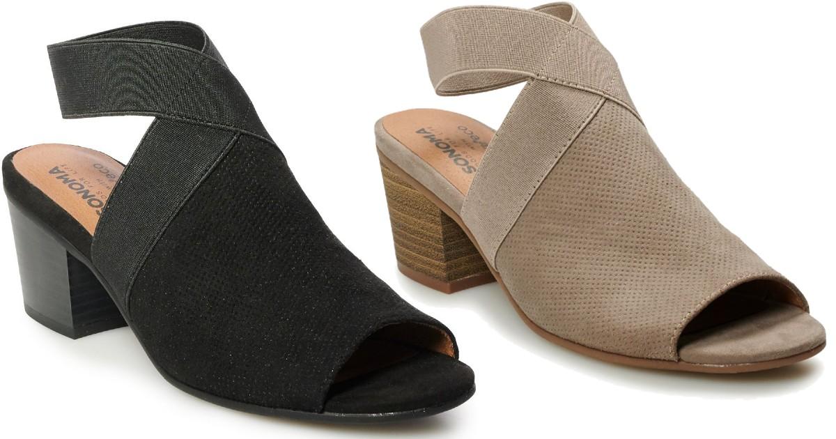 Zapatos Sonoma Goods For Life SOLO $11.99 en Kohl's (Reg $60)