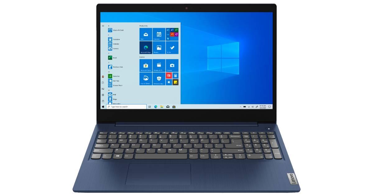 Laptop Lenovo IdeaPad 3 15 15.6″ Touch-Screen a solo $369.99 en Best Buy (Reg. $450)