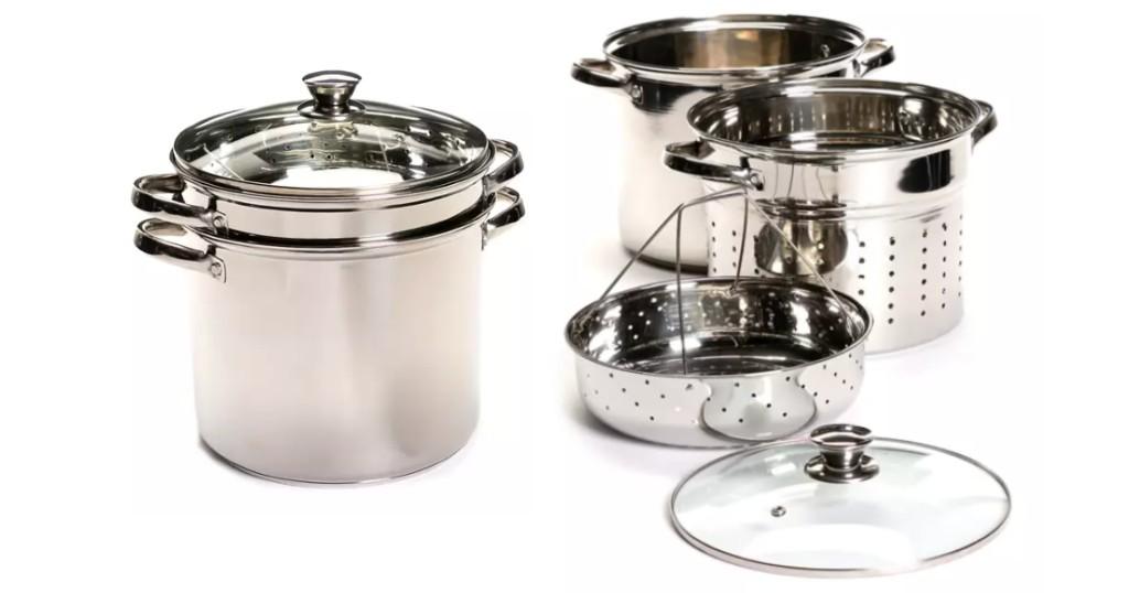 Lee más sobre el artículo Set Cooks Tools 8 Quart Multi Cooker a SOLO $20 (Reg. $50)
