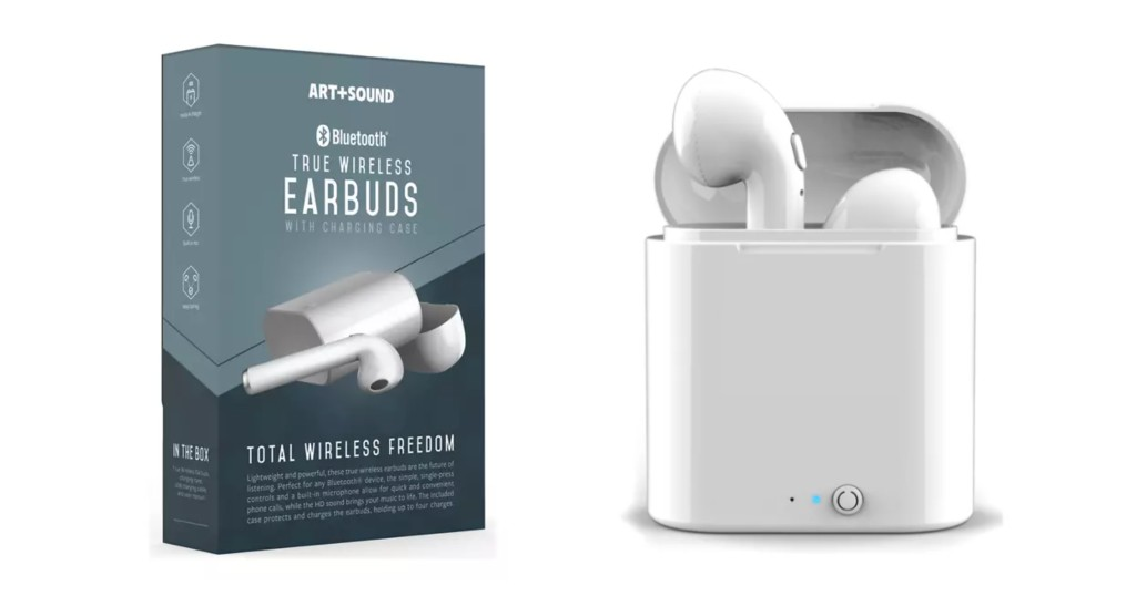 Lee más sobre el artículo Audífonos Art & Sound Bluetooth True Wireless a SOLO $13