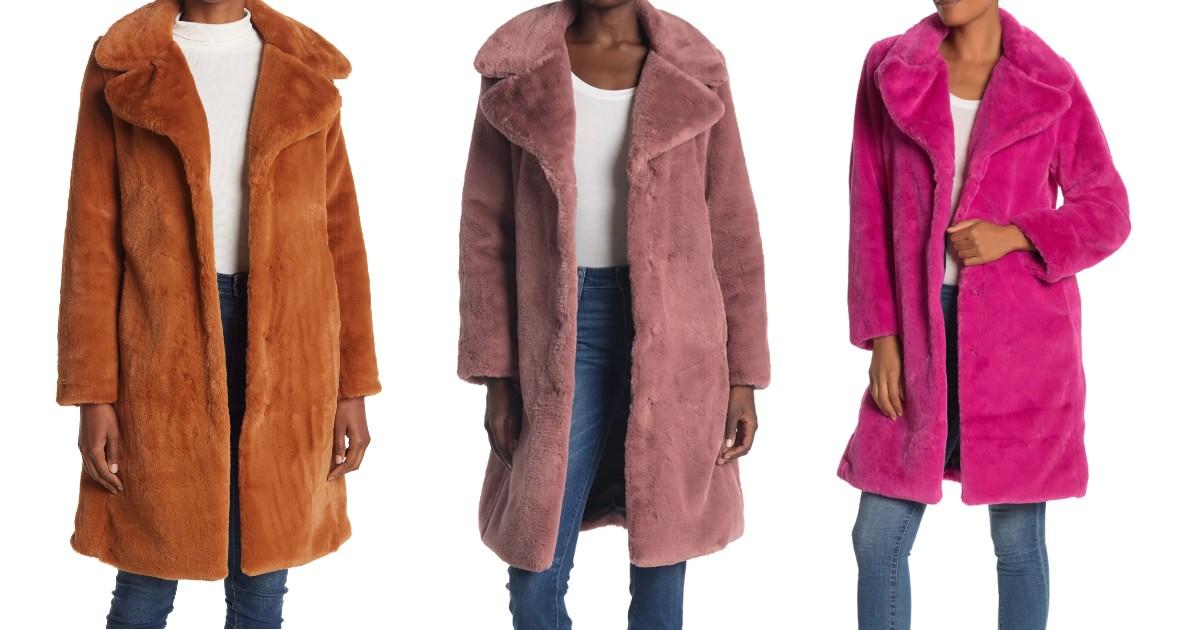 Lee más sobre el artículo Faux Fur Jacket SOLO $69.97 en Nordstrom Rack (Reg $150)