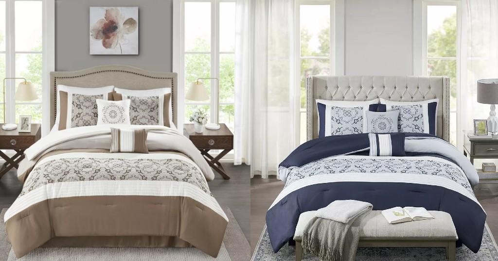Lee más sobre el artículo Set de Comforter Madison Park Nikola a solo $33.99 (Reg. $200)