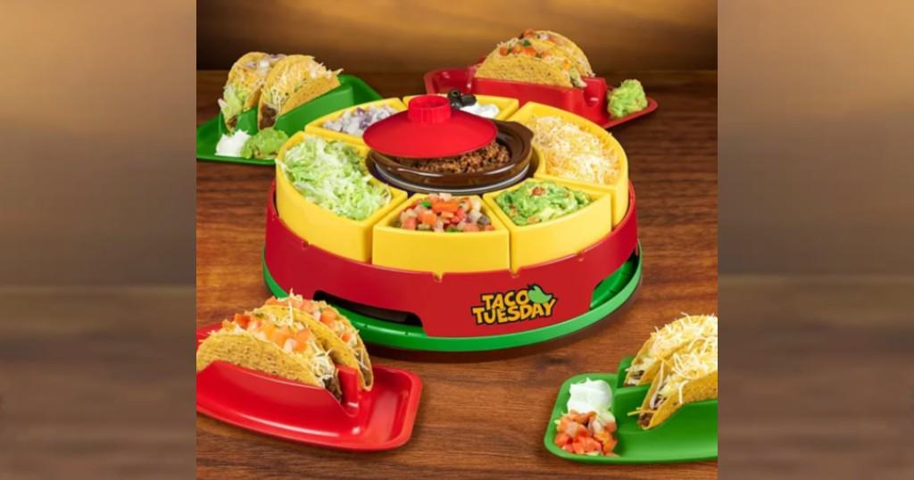 Lee más sobre el artículo Taco Tuesday Lazy Susan Taco Bar a solo $33.99 (reg. $49.99)