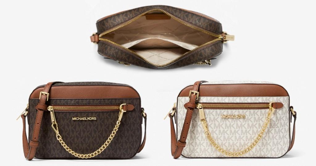 Lee más sobre el artículo Cartera Michael Kors Set Large Logo Crossbody Bag por $89 (Reg $348)