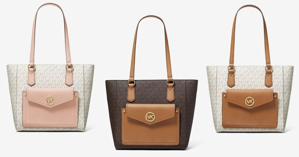 Lee más sobre el artículo Carteras Michael Kors Joey Leather Tote Bag por SOLO $99 (Reg $298)