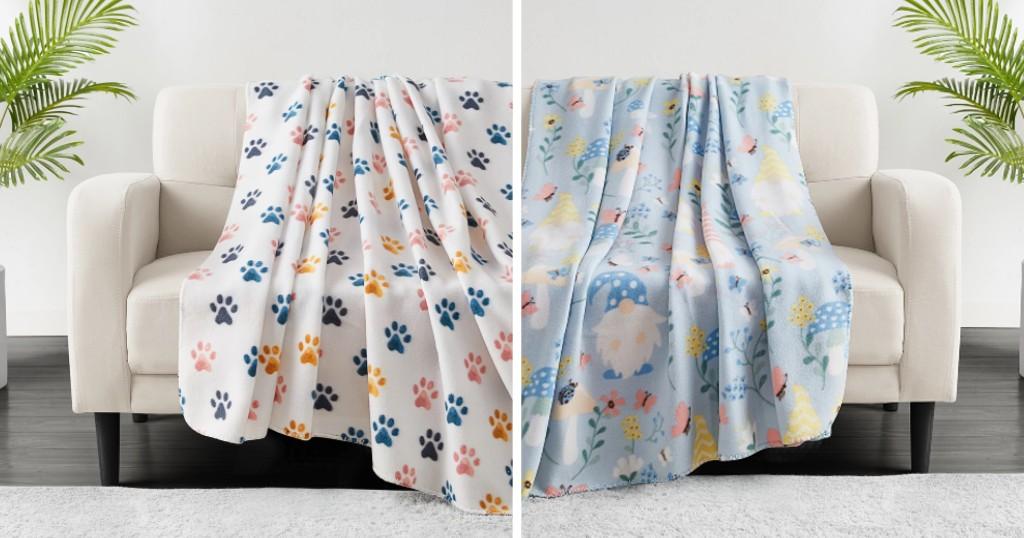 Lee más sobre el artículo Frisas Novelty Print Fleece Throws a solo $5.93 (Reg. $20) en Macy's