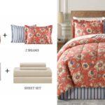 Set de Comforter Reversible Fairfield Square Francie de 6 Piezas a solo $29.93 (Reg. $100) en Macy's