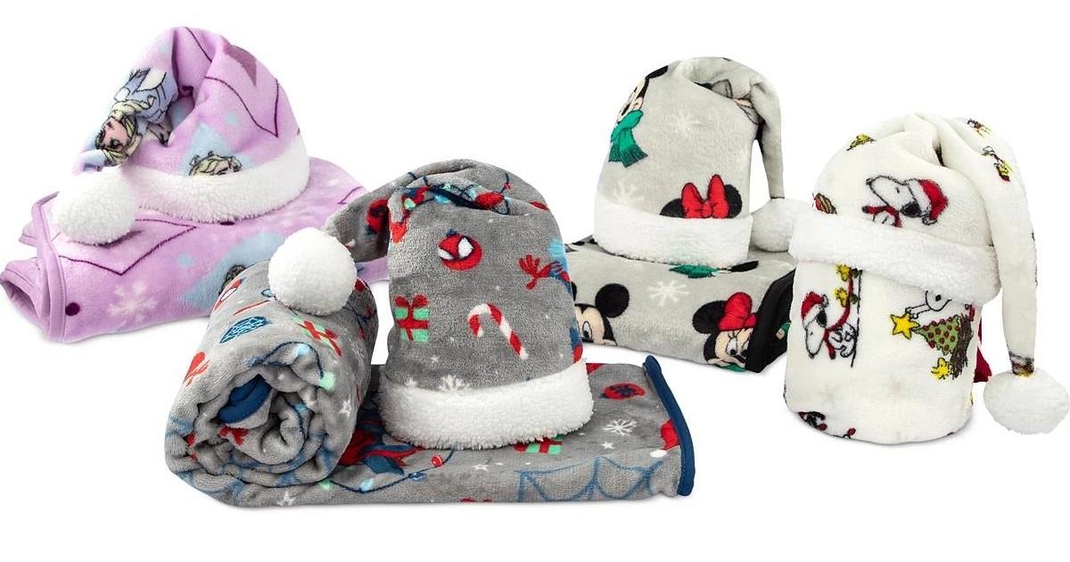 Lee más sobre el artículo Sets de Sombrero de Santa y Manta SOLO $14.99 (Reg $50)