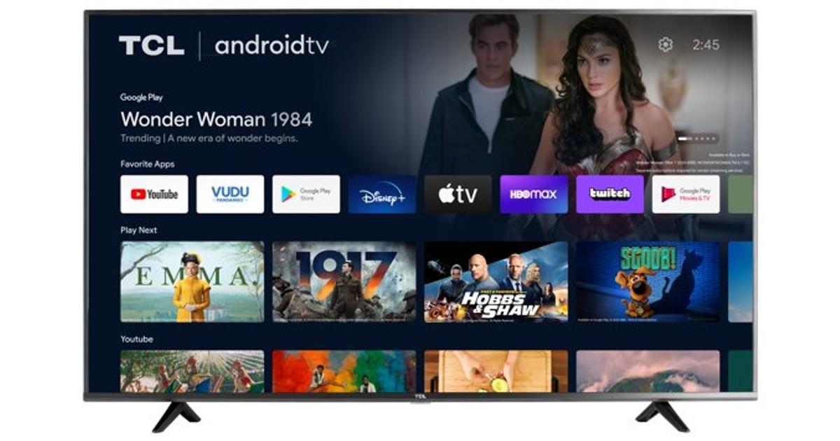 Lee más sobre el artículo TCL 55-Pulgadas 4K Smart Android TV SOLO $298 (Reg $448)