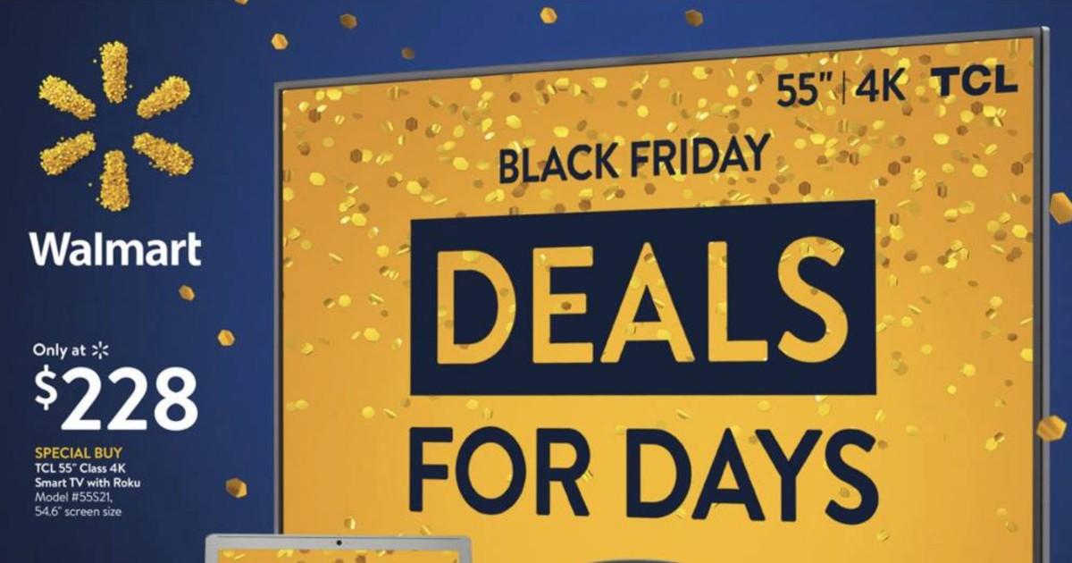 Lee más sobre el artículo Shopper de Walmart Black Friday Deals for Days Ya está AQUI