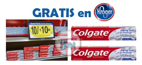 Colgate GRATIS en Kroger