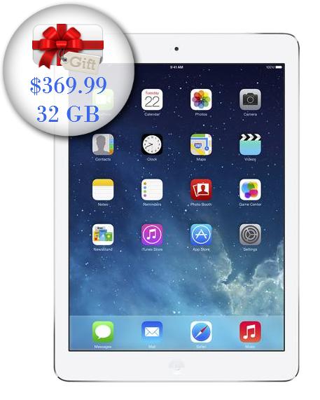 iPad Air 32 GB solo $369.99 hoy solamente